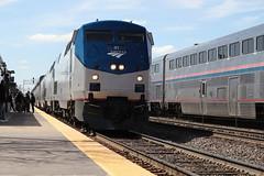 Amtrak meet (DonnieMarcos) Tags: chicago railroads railroad rail railfan rails railfanning railway trains train trainspotting traintrack chicagoarea chicagoland amtrak gegenesis generalelectric ge genesis bnsf bnsfrailway bnsfchicago bnsfchicagosub burlington racetrack bnsfracetrack