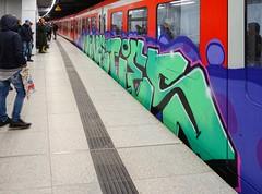 - (txmx 2) Tags: hamburg graffiti train metro subway nineties
