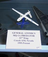 General Atomics MQ-1A Predator (Sentinel28a1) Tags: generalatomics mq1 rq1 predator 57thwing nellis usaf uav afghanistanwar gulfwar aircraft