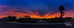 Sheps Mound Sunrise (A u s s i e P o m m) Tags: sunrise syd yssy shepsmound sydneyairport sydney newsouthwales australia mascot