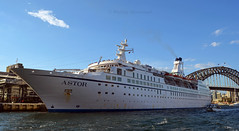 Astor_Panorama (PhillMono) Tags: nikon dslr d7100 sydney new south wales australia ship boat vessel cruise voyage circular quay astor panorama harbour dock