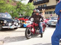 Indian Scout 101 - 1930 (John Steam) Tags: oldtimer oldtimertreffen bergpreis nussdorf nusdorf attersee oberösterreich austria 2010 motorcycle motorbike motorrad indian scout 101 1930 hans vintage meeting 13
