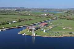 Trent Valley Sailing Club (Sam Tait) Tags: trent lock easter sunday sunny dji spark sail sailing boat valley club river boats