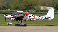 G-CKYL IKARUS C42 FB80 (BIKEPILOT, Thx for + 5,000,000 views) Tags: goodwood aerodrome circuit westsussex uk airport airfield aircraft aeroplane aviation flight flying gckyl ikarus c42fb80 microlight england britain