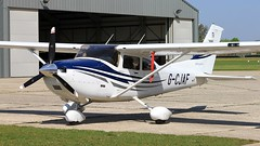 G-CJAF Cessna 182T Skylane (BIKEPILOT, Thx for + 5,000,000 views) Tags: goodwood aerodrome circuit westsussex uk airport airfield aircraft aeroplane aviation flight flying gcjaf cessna 182t skylane england britain