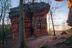 Altschlossfelsen (Michal Jeska) Tags: altschlossfelsen altschlossfels eppenbrunn pfalz pfälzerwald palatinate forest rock formation rocks sunset outdoor outdoors germany sonya7 ilce7 canonefs1018mmf4556isstm