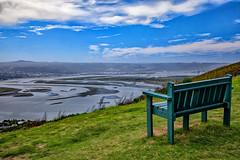 View over Knysna Lagoon (Johann (Still Me!)) Tags: bench sea lagoon seascape clouds margaretsview makemesmile johanndejager ef24105mmf4lisiiusm canoneos5dmarkiv