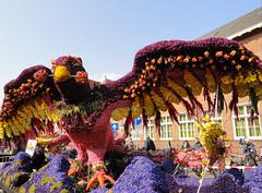 Phoenix on 'Rise of the Phoenix' (2) (michael_s_pictures) Tags: rise phoenix fenix praalwagen float bloemencorso