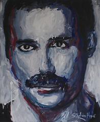 Freddie Mercury (Queen) (Stéphane-Hervé's Art) Tags: