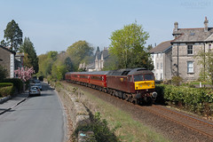 47851 2Z08 @ Kendal 21/04/2019 (North West Rail Scene) Tags: 47 westcoast wcrc class47 windermere oxenholme kendal loco train locohauled diesel 47826 47851 2z08