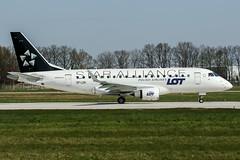 SP-LDK (PlanePixNase) Tags: hannover haj eddv airport aircraft planespotting langenhagen lot star alliance embraer e170 staralliance
