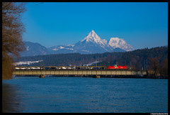ÖBB 1216 014, Langkampfen 09-02-2018 (Henk Zwoferink) Tags: langkampfen tirol austria henkzwoferink siemens öbb obb railcargoitalia rci rca taurus 1216 014