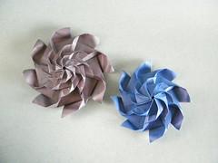 Whirl (2 and 3 levels) - Meenakshi Mukerji (Rui.Roda) Tags: origami papiroflexia papierfalten whirl 2 two three levels meenakshi mukerji