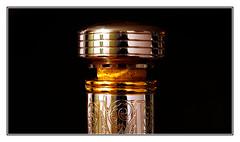 Bottle cap of Martell XO Cognac (Quang thanh Nguyen) Tags: bottlecap olympusomdem1 olympus60mmf28macro macromondays lowkey cognac martell frenchcognac xomartell xomartellstopper