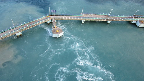 Jamaica - Ocho Rios:  swirls in the harbor basin