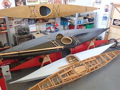 Greenland Kayak Model (Camwader Jon) Tags: 16 16th 16thscale kayak greenlandkayak modelkayak miniaturekayak camwadersgarage shrikeseakayak seakayak