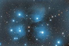 M45 Le Pleiadi (o Subaru o Matariki...) (Alessandro (Elio) Milani) Tags: m45 messier 45 pleiadi subaru mataariki