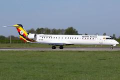 Uganda Airlines - Bombardier CRJ-900LR - 5X-EQU (Jesse Vervoort) Tags: bombardier crj uganda airlines plane aircraft airplane aeroplane maastricht limburg