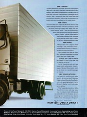 2001 Toyota Dyna II Truck Page 2 Aussie Original Magazine Advertisement (Darren Marlow) Tags: