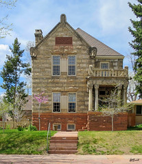 Hb-1252 Cool Stone Built House (thingsb) Tags: denver old stone built house