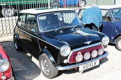 1993 Rover Mini Cooper K10KLW Brooklands Mini Day March 2019 (davidseall) Tags: 1993 rover mini cooper car k10klw k10 klw original classic old shape style great british brooklands day march 2019 weybridge surrey uk