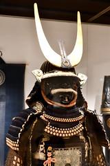 Samurai Armour (1600-1800) (Bri_J) Tags: britishmuseum london uk museum historymuseum nikon d7500 samurai armour japanesearmour morifamily samuraiarmour gold horns