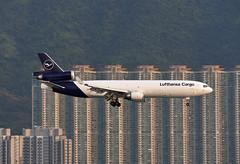 Lufthansa Cargo McDonnell Douglas MD-11F D-ALCA (EK056) Tags: lufthansa cargo mcdonnell douglas md11f dalca hong kong chek lap kok airport