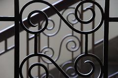 Spiralen (Elbmaedchen) Tags: schärfentiefe depthoffield dof geländer railing spirals handwerkskammer