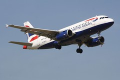 G-DBCD (IndiaEcho) Tags: gdbcd british airways airbus a319 london gatwick egkk lgw airport airfield crawley west sussex england canon eos 1000d civil aircraft aeroplaneaviation airliner approach landing sky 08