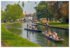 Punting on the River Cam IMG_0099 (Davey's Shots) Tags: punting punts people summertime girls historicbuildings rivercam cambridge cambridgeshire eastanglia