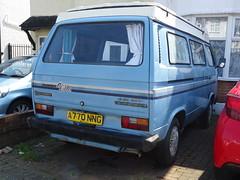 1984 Volkswagen Transporter Camper Van (Neil's classics) Tags: vehicle 1984 volkswagen transporter camper van t3 t25 vw camping motorhome autosleeper motorcaravan rv caravanette kombi mobilehome dormobile