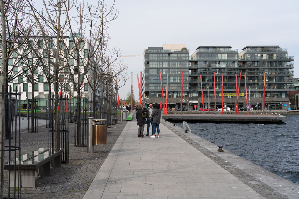 GRAND CANAL SQUARE AND NEARBY [DUBLIN DOCKLANDS]-151605