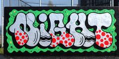 Graffiti in Amsterdam (wojofoto) Tags: amsterdam nederland netherland holland graffiti streetart wojofoto wolfgangjosten javaeiland night
