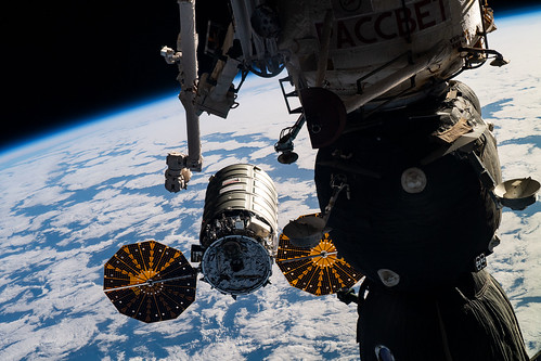 Cygnus approaches its capture point