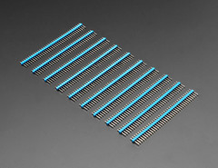 "Break-away 0.1"" 36-pin strip male header - Blue - 10 pack (adafruit) Tags: 4150 36pin pin headers blue maleheaders 10pack 36pinmaleheaders adafruit new newproducts electronics accessories diy diyelectronics diyprojects projects"