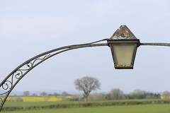 SkyLight (Tony Tooth) Tags: nikon d600 nikkor 105mm lamp light churchyard countryside edlaston derbyshire