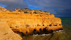 Nature's Ship (elena.voroniouk) Tags: travel cliffs beach sea nature formations outside algarve portugal