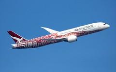 VH-ZND Boeing 787-9 63390/669 Qantas Yam Dreaming (howtrans38) Tags: vhznd boeing 7879 qantas yam dreaming