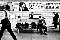 Underground Moment (Victor Borst) Tags: street streetphotography streetlife re reallife real realpeople asian asia asians osaka osakaraw japan japanese metro subway blackandwhite bw b mono monotone monochrome urban urbanroots urbanjungle underground city cityscape citylife happyplanet asiafavorites