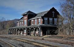 Old BR&P East Salamanca Station (bobchesarek) Tags: bprr brp trains railroad railroadstation salamancany eastsalamancastation