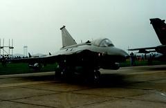 AR115 (IndiaEcho) Tags: ar115 saab draken royal danish air force rdaf raf mildenhall fete 91 aircraft aeroplane aviation airport airfield