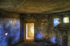 Sunlit Bunker (nigdawphotography) Tags: bunker airfield ww2 interior graffiti sawbridgeworthairfield hertfordshire wall