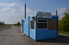 (Sam Tait) Tags: shakespeare raceway england avon park long marston drag strip dragstrip derelict urbex abandoned closed shut ticket office gate booth stratford upon county racing dragster track blacktop 2 lane rip shakey memories warwickshire sunny easter monday