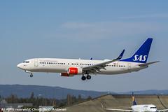 LN-RGI (30) (Christoffer Andersen) Tags: sas scandinavianairlines sasnewcabin boeing b737 b737800 b737800wl osl osloairportgardermoen gardermoen passengerplane airplane aircraft planespotting