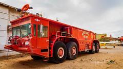 Airport Fire Truck (Jeffrey Balfus (thx for 5.5M views)) Tags: pimaair tucson az us sonya7iii ilce7m3 fe24240mmf3563oss sel24240 militaryjets militaryaircraft firetruck