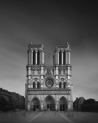 Notre Dame (Dennis_Ramos) Tags: notredame cathedral paris france blackandwhite longexposure minimal fineart dennisramos fujifilm xt10 architecture