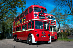 12 (somedaysooned) Tags: eastanglia england uk transport bus tram museum vintage old classic trolleybus