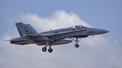 C.15-73 (46-01) McDonnell-Douglas EF-18AM Hornet (PeteB72) Tags: mcdonnelldouglas ef18am hornet 4601 gando spanishairforce lpa laspalmasdegrancanaria ala46 jetfighter sony ilca77m2 sony70300g