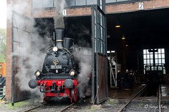 BR 91 134 (giver40 - Sergi) Tags: dresden dampflok steamlocomotive locomotora de vaporrotonda vapor steam dampfloktreffen sajonia drehscheibe br91