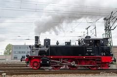BR 91 134 (giver40 - Sergi) Tags: dresden dampflok steamlocomotive locomotora vapor steam dampfloktreffen sajonia drehscheibe br91 locomotoradevapor rotonda eiasenbahnmuseum